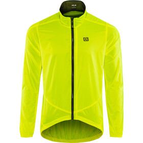 Alé Cycling Guscio Light Pack Jacket Herre flou yellow